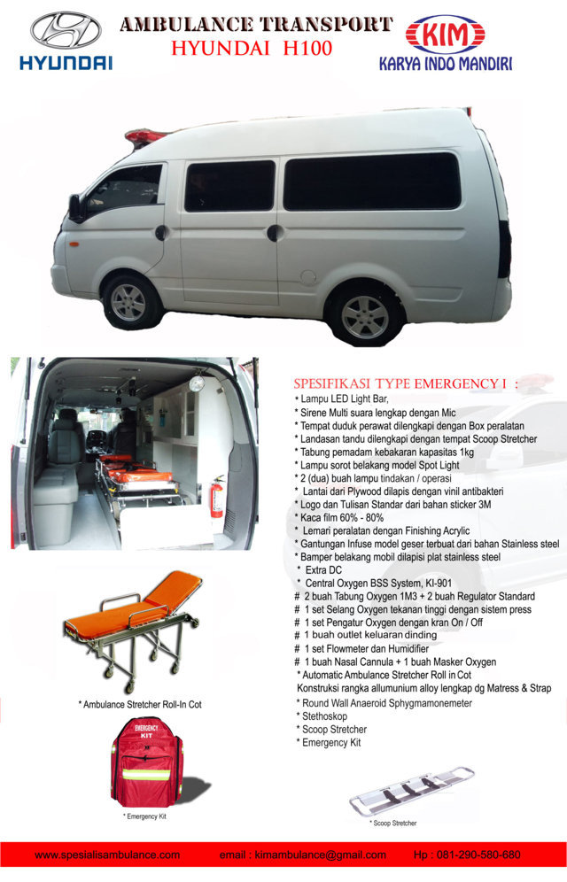 Hyundai H100 EMERGENCY 1a res