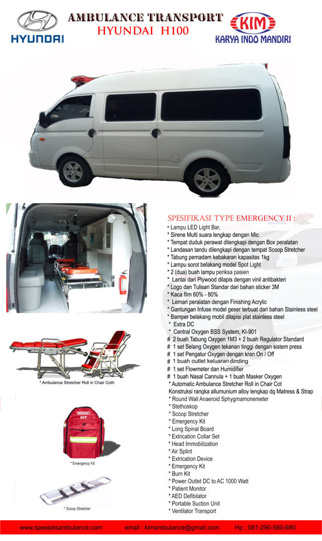 Hyundai H100 EMERGENCY 2a res