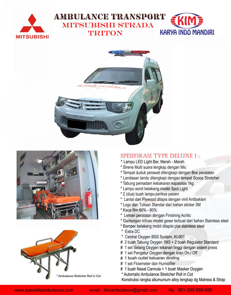 Mitsubishi Strada Delux 1 a res