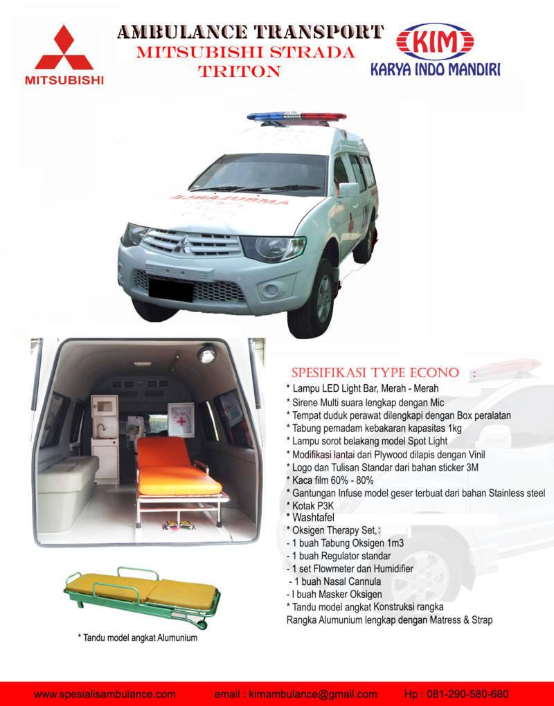 Mitsubishi Strada Econo res