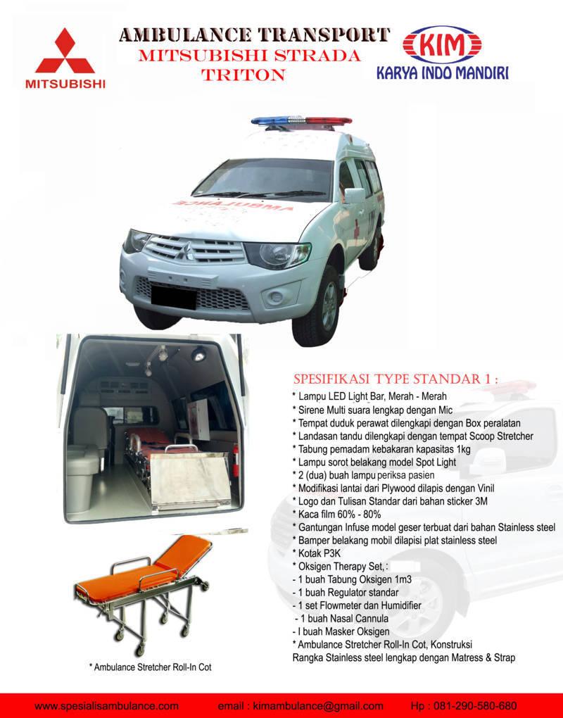 Mitsubishi Strada Standar 1 res