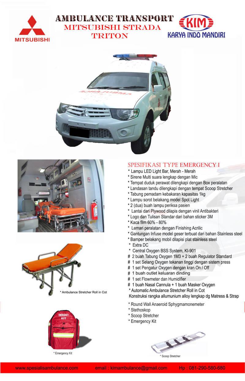 Mitsubishi Strada emergency 1 res