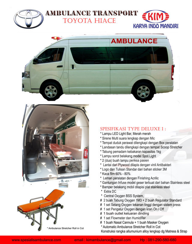 TOYOTA HIACE DELUXE 1 res