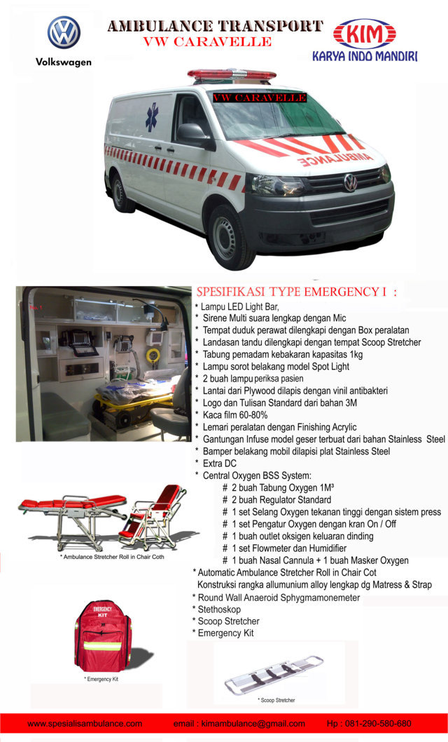 VW CARAVELLE EMERGENCY 1a res