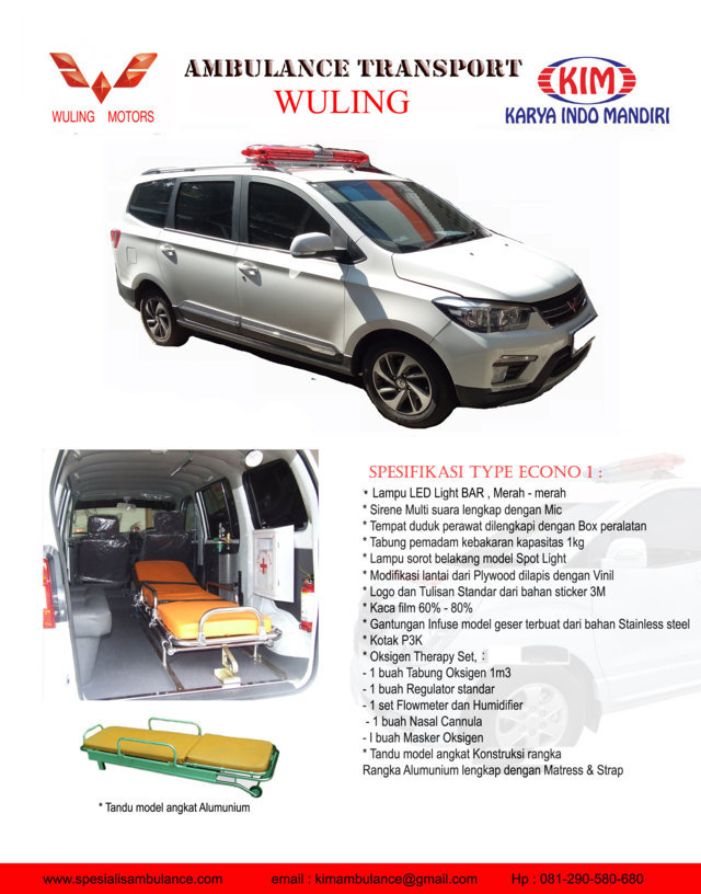 WULING ECONO 1 res