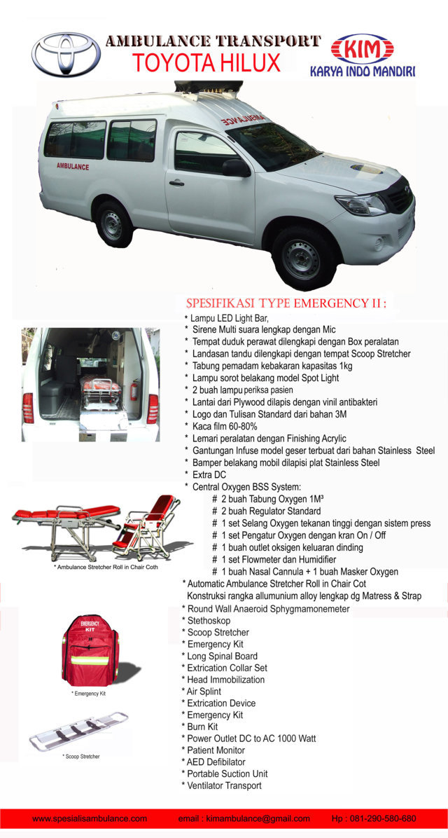toyota HILUX emergency 2 res