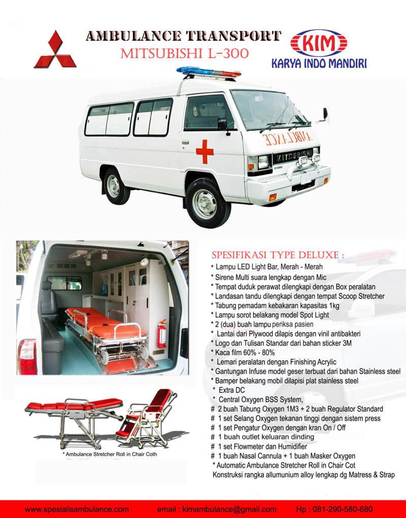 Mitsubishi L300 Delux res