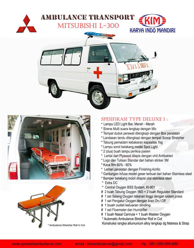 Mitsubishi L300 Delux1 res