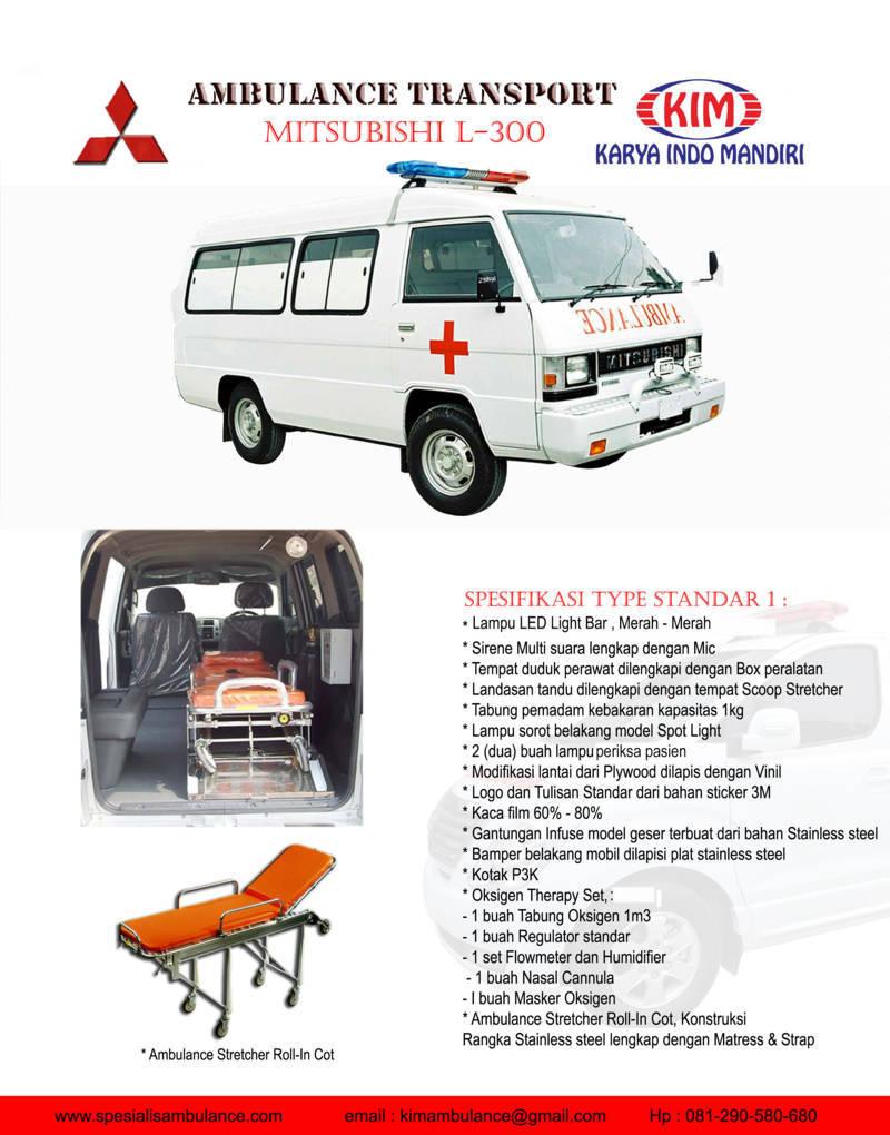 Mitsubishi L300 Standar 1 res