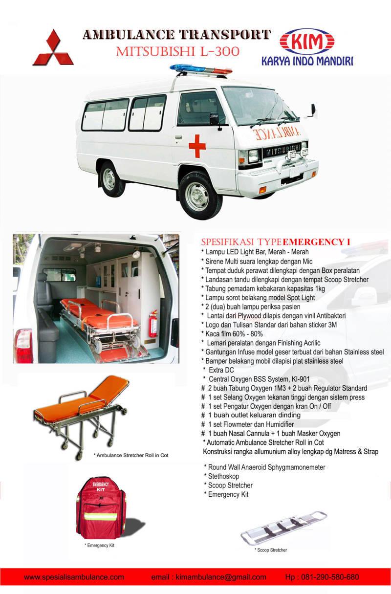 Mitsubishi L300 emergency 1A res